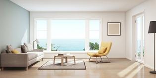 启东门窗——光滑的线条也是现代风格前门中常见的组件
